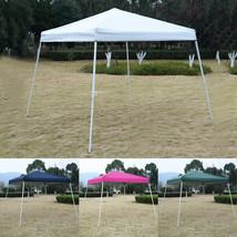GOPLUS 10' x 10' EZ POP UP Wedding Party Canopy Carry - $124.76