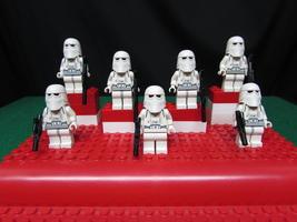 Lego Star Wars Lot of 7 Snowtrooper Minifigures  - $31.95