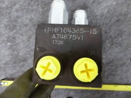 AT467541 John Deere Hydraulic Pressure Valve  image 2
