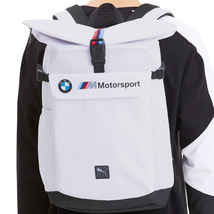 BMW M Motorsport Puma Roll Top Bag Utility Lifestyle Backpack 076897-01 image 9