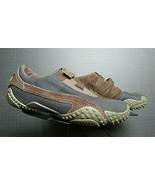 Men's PUMA Black Ballistic Fabric Brown Leather Casual Cool Sneaker Sz. ... - $35.63
