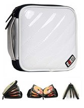 32 Capacity CD / DVD Wallets Colorful DVD Storage Refinement CD Storage White