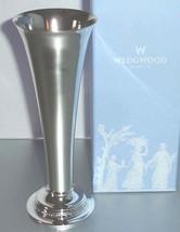 "Wedgwood Wish Silverplate 8"" Bud Posy Vase $118 New In Box - $36.90"