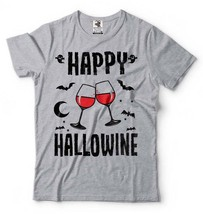Halloween T Shirt Funny Halloween Costume Drinking Halloween Costume Fun... - $22.99+