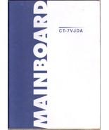 Chaintech CT-7VJDA Motherboard User Manual AMD Socket A Duron Athlon - $6.92