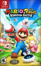 Mario + Rabbids Kingdom Battle Nintendo Switch 2017 Brand New Sealed Rat... - $29.99