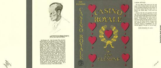 Fleming-facsimile jacket for 1st UK ed. of Casino Royale (no book included)