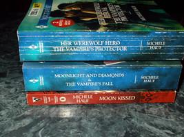 Harlequin Nocturne Michelle Hauf lot of 3 paranormal romance paperback - $5.99