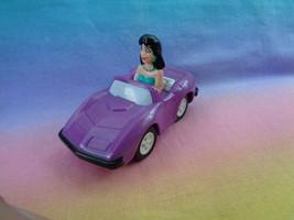 Vintage 1991 Burger King Toy Riverdale Comic Archie Veronica Purple Car - $3.91