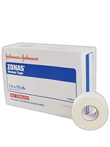 Zonas Porous Athletic Tape 1 Inch X 10 Yards Box of 12 Rolls - $22.55