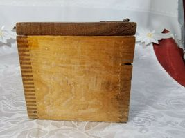 VINTAGE CLARITE HIGH SPEED COLUMBIA TOOL STEEL CO. WOODEN BOX image 4
