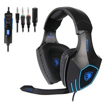 SADES SA819 Xbox one PS4 PC Gaming Headsets Headphone 3.5mm Over-Ear Headphones - $41.88