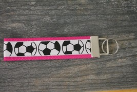 Soccer Wristlet Key Forr Key Chain Wrist Strap-Soccer Keychain - €8,26 EUR