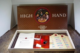 High Hand board Game-1984-Milton Bradley-Complete Complete  - $9.22