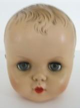 Vintage 1950's APEX Sleepy Eyes Baby Boy Doll HEAD ONLY - $33.65