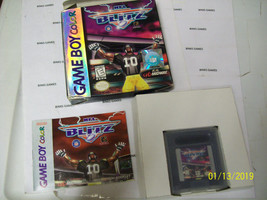 NFL Blitz (Nintendo Game Boy Color, 1998) IN ORIGINAL BOX - $5.91