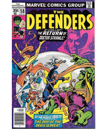 The Defenders Comic Book #58, Marvel Comics 1978  FINE+, NEW UNREAD - $2.75