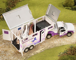 Breyer 5369 Horse Crazy Truck & Trailer very well done stablemate size  <> - $33.85