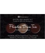 BH Cosmetics Flawless Brow defining kit , Medium makeup maquillaje mujer... - $12.86
