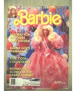 Barbie Magazine for Girls Spring 1991 soft cover Very Good Condition Unr... - $21.56