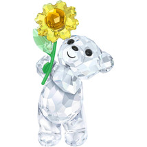 Authentic Swarovski Kris Bear - A Sunflower For You - Crystal Figurines - $92.57