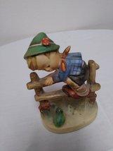 "Authentic Goebel M.J. Hummel ""Retreat To Safety""Figurine #201 2/0 Early Goebel 1 image 3"