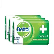 Dettol Orignal Soap Trusted Protection for Family Original 75gm ( pack of 3 )** image 3