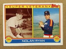 Nolan Ryan - Houston Astros 1983 Topps Super Veteran #361 - Fast Shipping - $1.97