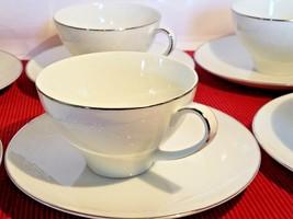 Noritake China Georgian #6440 Tea Cups and Saucers - Set of 6 - $23.01