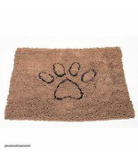 Dirty Dog Doormat Brown Super Absorbent Plush Velvety 20x31 Non-Skid Bac... - $49.54