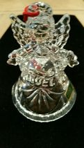 Waterford Crystal Marquis Noel Angel Bell Christmas Ornament Third in a Series image 4
