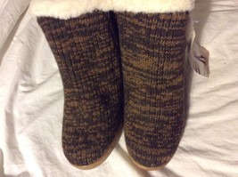 Muk Luks ankle Boots Brown Size 10 - $128.69
