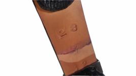 Lot of 3 Wild West Boots Women Rhinestone Belt Sz 28 Genuine Ostrich Leather image 7