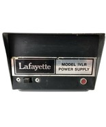Lafayette CB Radio Power Supply Model IVLR 117VAC 12VDC 4 Amp Max - Part... - $16.82