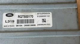 2006 Land Rover LR3 319 Suspension Control Module Unit Rqt500170 image 2