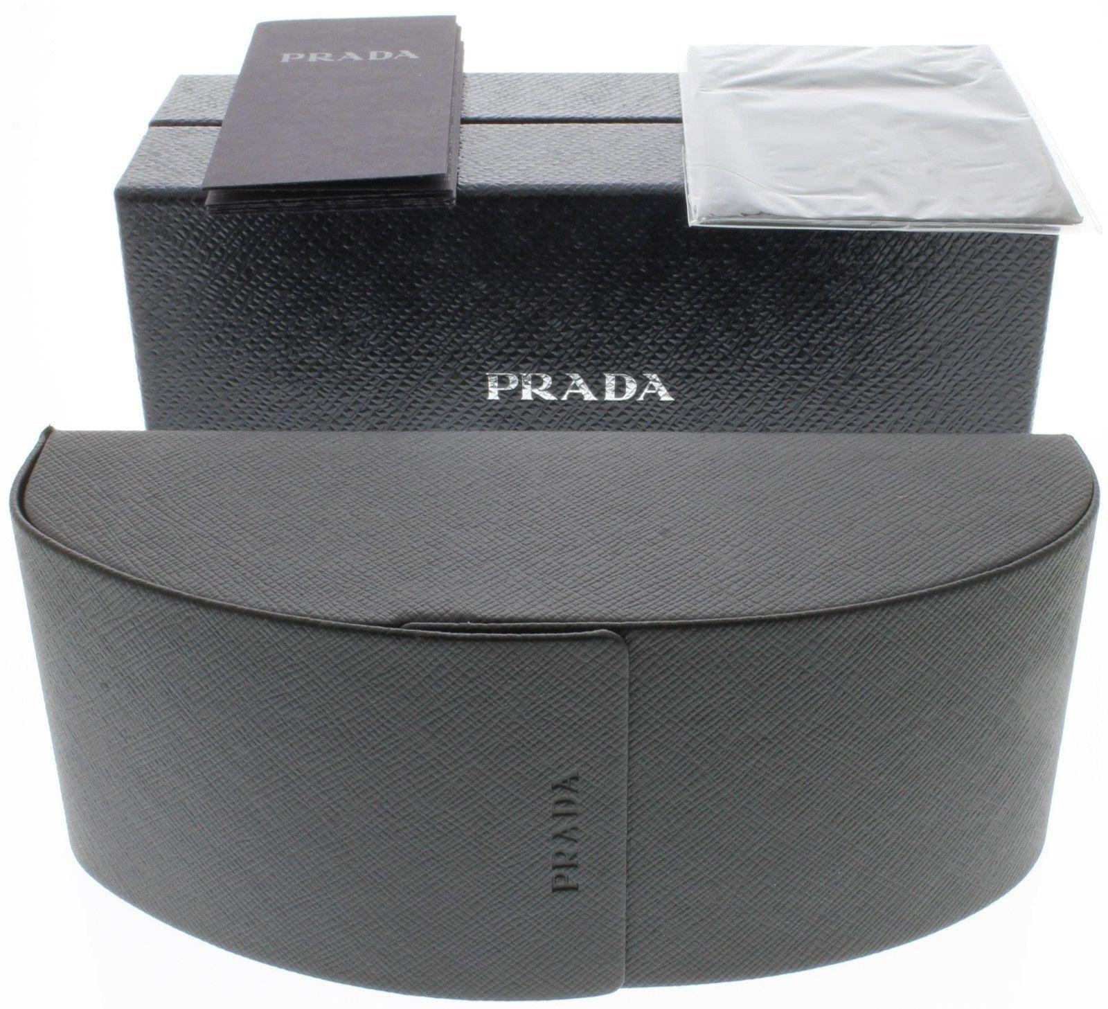 Prada Sunglasses Women Off White With Stud Detailing Cateye PR31QS 7S30A7
