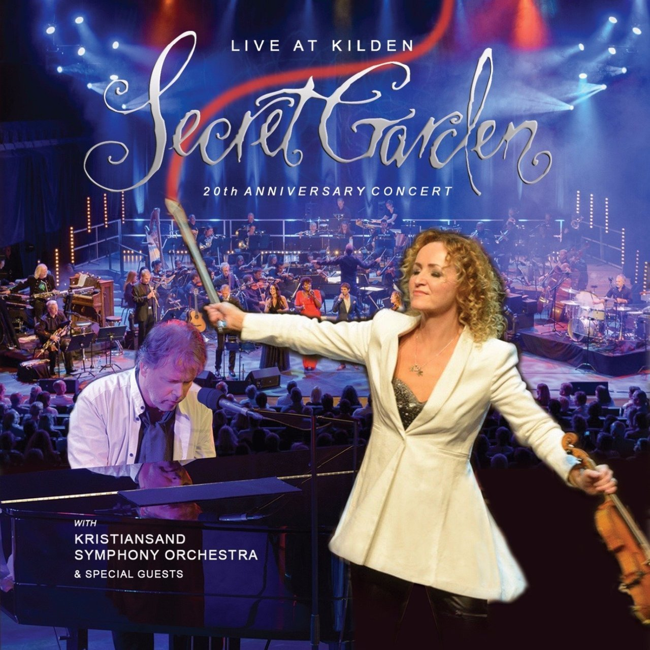 Live at kilden   20th anniversary concert by secret garden   cd