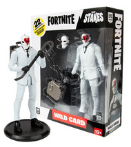 Fortnite High Stakes Wild Card 'Red' 7in. Figure McFarlane Toys Mint in Box - $24.88