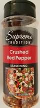 Culinary Seasonings: Crushed Red Pepper Seasoning 3.75 oz Shaker - $2.96