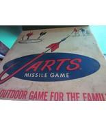 Vintage Jarts box - missile game - BOX ONLY  - $200.00