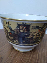 "Norman Rockwell ""Yankee Doodle"" Bowl by Gorham Fine China 1976 Limited Edition # image 1"