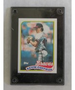 MLB Atlanta Braves Kevin Coffman Baseball Card in Case 1989 Topps 488 - $6.88