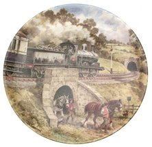 Bradford Exchange Wedgwood Into The Tunnel John Chapman from Country Con... - $44.59