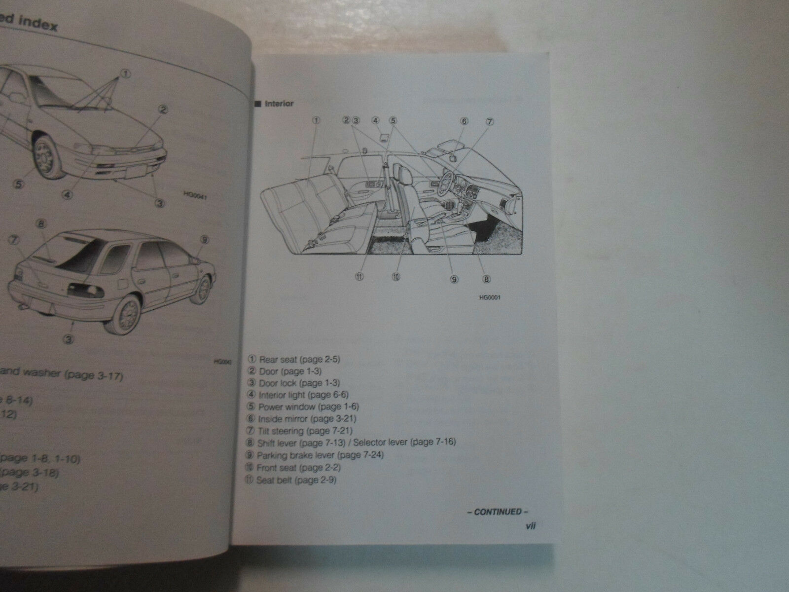 1996 Subaru Impreza Owners Manual WATER DAMAGED STAINED FACTORY FEO BOOK 96 DEAL