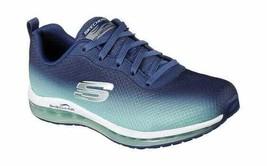 Skechers Women's Skech-Air Element Trainer Navy/Green Cross Training Shoes - $90.13