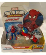 PLAYSKOOL HEROES MARVEL SUPER HERO ADVENTURES SPIDER-MAN WITH WEB RACER - $12.99