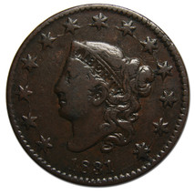 1831 Large Cent Liberty Head Coin Lot # MZ 3607