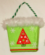 Holiday basket 6.5w x 3d x 10.5h - cards, candy, figurines, decorations,... - $7.49