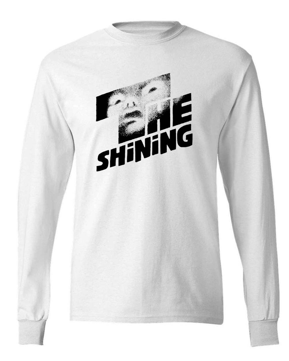 The Shining t-shirt retro horror Stephen King 80's 100% cotton Long Sleeve tee