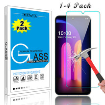 1-4 Pack For LG V60 ThinQ Premium HD Tempered Glass Screen Protector Clear Film - $31.90